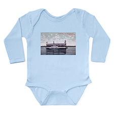 Steamer Minneapolis on Lake M Long Sleeve Infant B