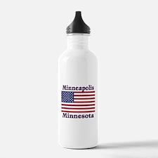 I Love Minneapolis Water Bottle