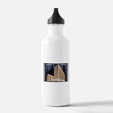 1930's Curtis Hotel Postcard Water Bottle