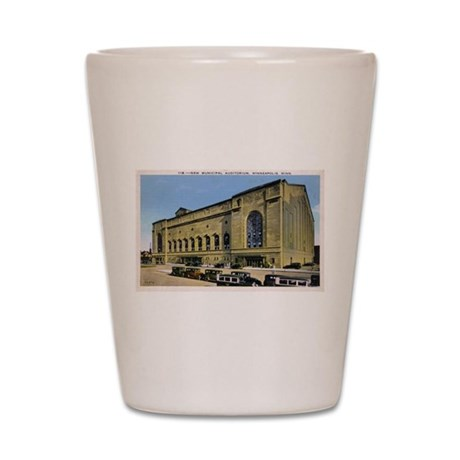 1920's Minneapolis Auditorium Shot Glass