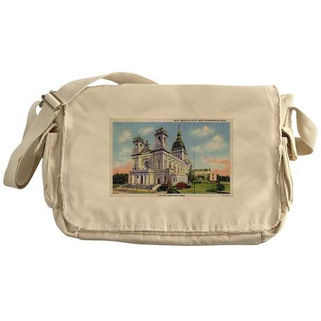 1935 Basilica of St. Mary's Messenger Bag