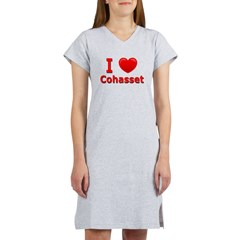 I Love Cohasset Women's Nightshirt