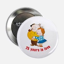 """In Love 2.25"""" Button (10 pack)"""