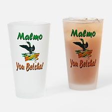 Malmo You Betcha Drinking Glass