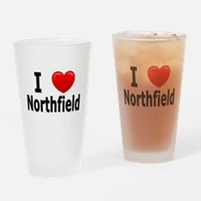 I Love Northfield Drinking Glass