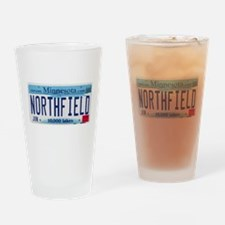 Northfield License Plate Drinking Glass