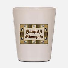 Bemidji Loon Shot Glass