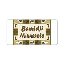 Bemidji Loon Aluminum License Plate