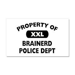 I Love Brainerd Car Magnet 20 x 12