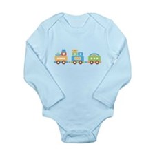 Fun Train Long Sleeve Infant Bodysuit