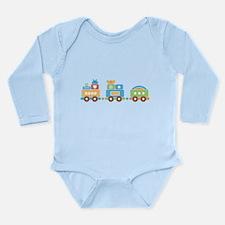 Fun Train Long Sleeve Infant Bodysuit