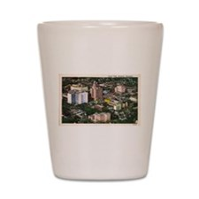 Rochester Aerial View Shot Glass