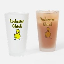 Rochester Chick Drinking Glass