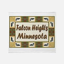Falcon Heights Loon Throw Blanket