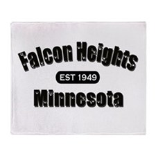 Falcon Heights Est 1949 Throw Blanket