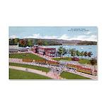 Wildwood Park Car Magnet 20 x 12