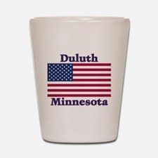 Duluth US Flag Shot Glass