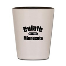 Duluth Established 1857 Shot Glass