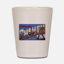 Greetings from Duluth Shot Glass