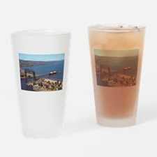 Duluth Harbor Drinking Glass