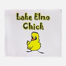 I Love Lake Elmo Throw Blanket