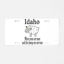 Idaho Sheep Aluminum License Plate