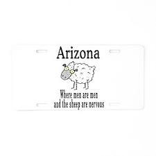 Arizona Sheep Aluminum License Plate