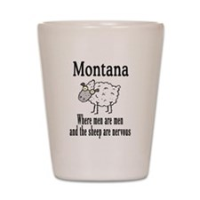 Montana Sheep Shot Glass