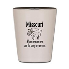Missouri Sheep Shot Glass