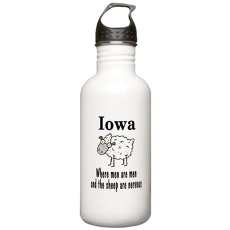 Iowa Sheep Stainless Water Bottle 1.0L