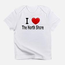 """I Love """"Up North"""" Minnesota Infant T-Shi"""