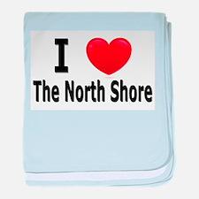 "I Love ""Up North"" Minnesota baby blanket"
