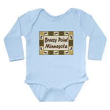 Breezy Point Loon Long Sleeve Infant Bodysuit