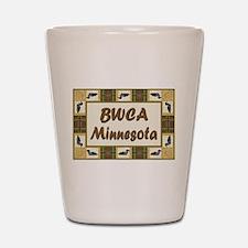 BWCA Loon Shot Glass
