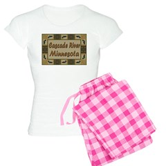 Cascade River Loon Pajamas