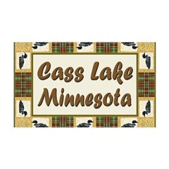 Cass Lake Loon 38.5 x 24.5 Wall Peel