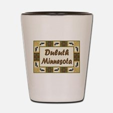 Duluth Loon Shot Glass