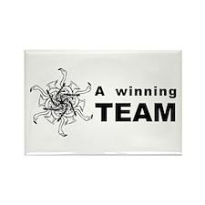 Winning Team Rectangle Magnet