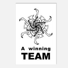 Winning Team Postcards (Package of 8)