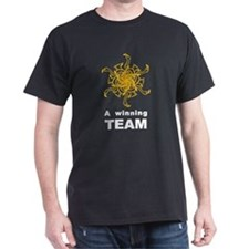 Winning Team Black T-Shirt