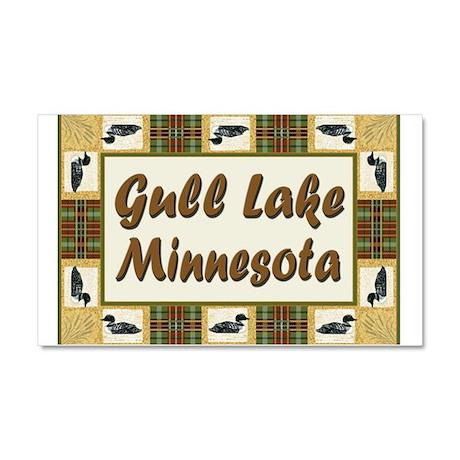 Gull Lake Loon Car Magnet 20 x 12