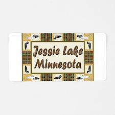 Jessie Lake Loon Aluminum License Plate