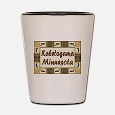 Kabetogama Loon Shot Glass
