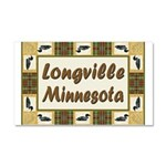 Longville Loon Car Magnet 20 x 12