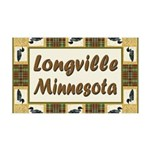 Longville Loon 38.5 x 24.5 Wall Peel