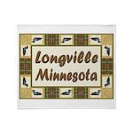 Longville Loon Throw Blanket