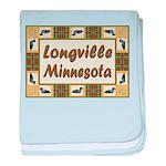 Longville Loon baby blanket