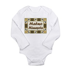 Malmo Loon Long Sleeve Infant Bodysuit