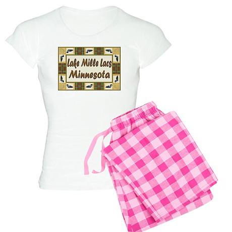 Mille Lacs Loon Women's Light Pajamas