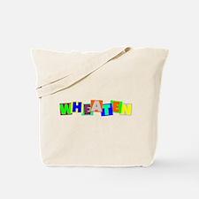 Wheaten BLOCKS Tote Bag